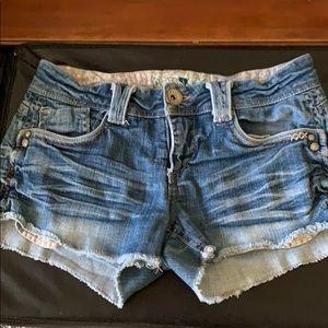 Jolt jean shorts